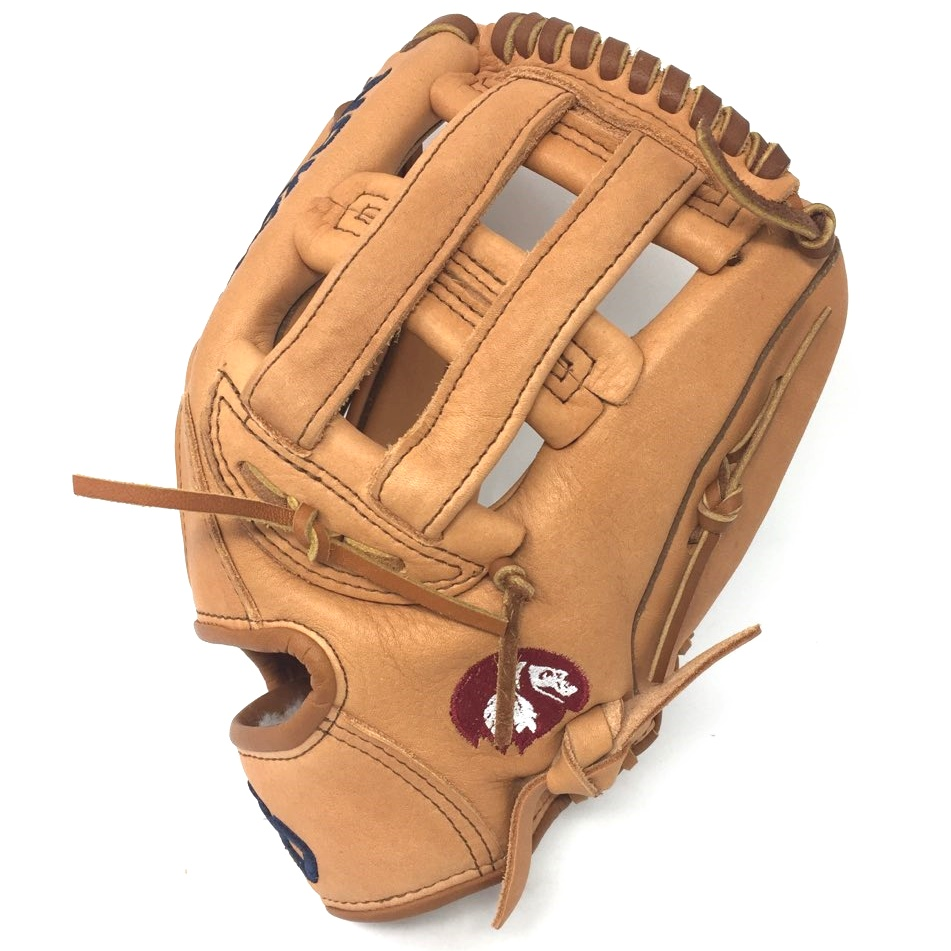 The Supersoft series from Nokona features ultra-premium, top-grain Steerhide for an amazingly soft feel. The Supersoft gloves are like no other. The supple and game ready leather maintains its structure and durability. Comes with a manufacturer's warranty from Nokona. - 11.75 Inch Model - H Web - Open Back - Premium Top-Grain Steerhide Leather - Requires Some Player Break-In - Manufacturer's Warranty.