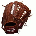 nokona walnut 11 5 baseball glove mod trap web right hand throw