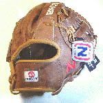 Nokona WB-1175H Walnut 11.75 Baseball Glove H Web Right Handed Throw  Nokona Walnut HHH Leather which provides greater stiffness and stability. Nokona has built its reputation on its legendary Walnut Leather. Now made with our proprietary Walnut HHH Leather which provides greater stiffness and stability. Once this glove is worked in, the glove is soft and supple, yet remains sturdy - a true, classic Nokona. 11.75 Inch Pattern. H Web With Walnut Leather and Open back.