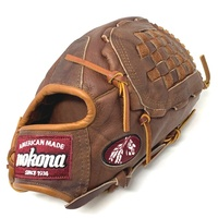 nokona walnut 13 inch closed web baseball glove right hand throw