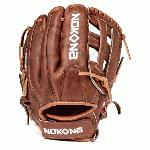Inspired by Nokona's history of handcrafting ball gloves in America for over 80 years, the proprietary Walnut Crunch™ leather is a signature of Nokona. This glove provides great stability, duarability, and a game-ready feel. This classic series has been updated with a new look that highlights the gloves' modern features, while paying tribute to Nokona's long-standing baseball and softball heritage.