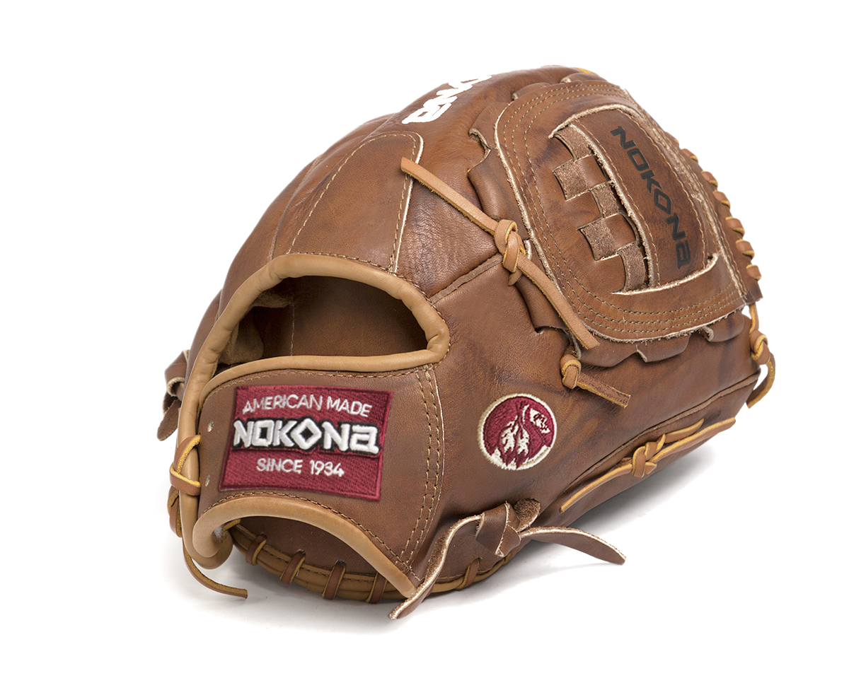 nokona-walnut-series-baseball-glove-w-1200c-right-hand-throw W-1200C-RightHandThrow Nokona 808808891703 For over 80 years Nokona has built its reputation on producing
