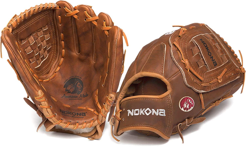 nokona-walnut-softball-glove-13-inch-right-hand-throw W-1300C-RightHandThrow  808808891826