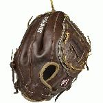Nokona has built its reputaion on legendary walnut crunch leather. Once you work it in, this glove is soft and supple, yet remains sturdy. A true classic Nokona, a long time favorite of softball players worldwide.