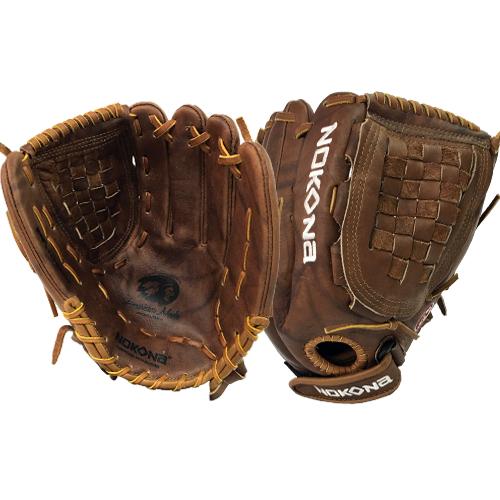 nokona-walnut-w-v1250c-softball-glove-right-hand-throw W-V1250C-RightHandThrow Nokona 808808891642 Premium Walnut Crunch 12.50 Nokonas Walnut Series Great Stability and Durability