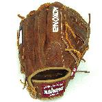 Nokona Classic Walnut Steerhide and Closed Web. Top Grain Steerhide. The Nokona Classic Walnut Series is constructed from premium Walnut Crunch Leather. It is one of the toughest, and longest lasting gloves currently on the market. The Classic Walnut Series offers an open back, and closed webbing for a great fit and an excellent feel. Nokona Gloves are made in the USA.