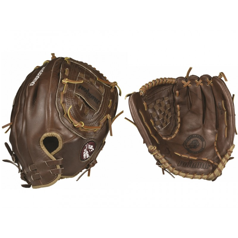 nokona-walnut-ws-1400-c-softball-glove-14-inch-right-hand-throw WS-1400C-Right Handed Throw Nokona 808808102601 <span style=font-size small;>Nokona 14 inch Softball Glove. Nokona has built its