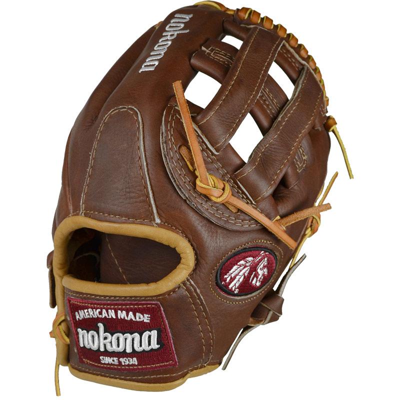 nokona-wb-1175h-walnut-11-75-baseball-glove-h-web-right-handed-throw WB-1175H-Right Handed Throw Nokona 808808881230 Nokona WB-1175H Walnut 11.75 Baseball Glove H Web Right Handed Throw