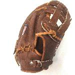 Nokona WB-1250H 12.5 H Web Walnut Baseball First Base Mitt (Right Handed Throw) : 12.5 Pattern Walnut Leather. Once this glove is worked in, this glove is soft and supple, yet remains sturdy. a true classic Nokona.