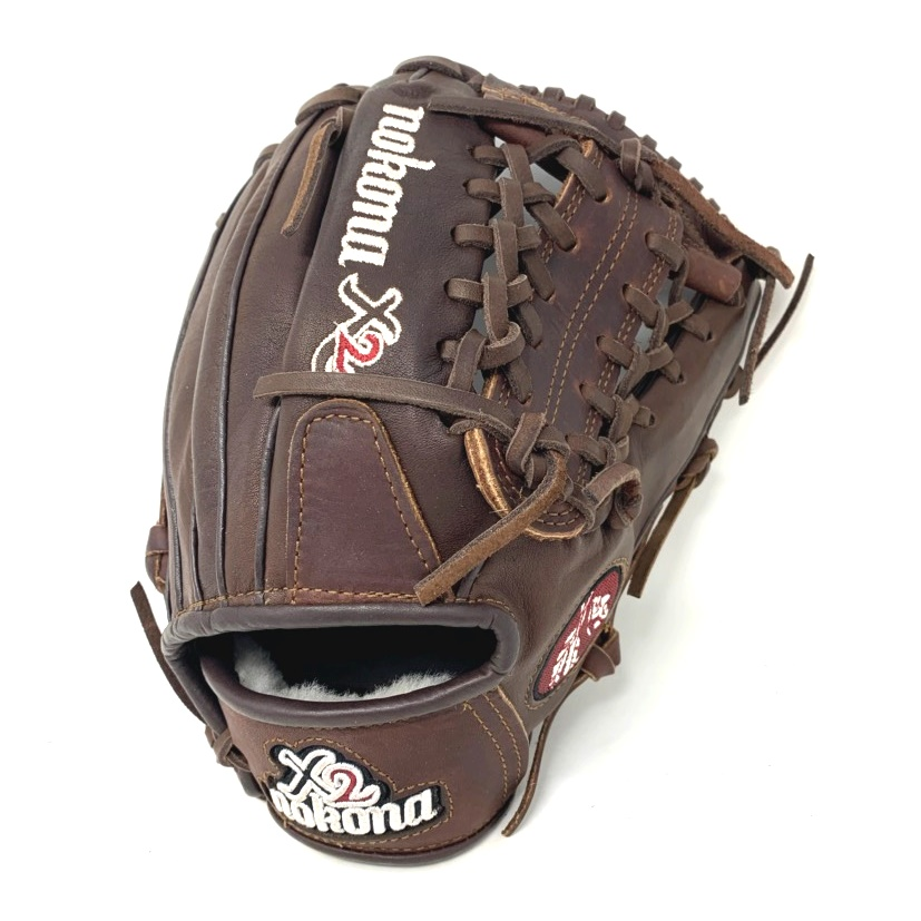 nokona-x2-1150m-baseball-glove-11-5-right-hand-throw X2-1150M-INDIAN-RightHandThrow  808808892984 Introducing the X2 Elite Nokona's elite-performance ready-for-play position-specific series. Recommended for