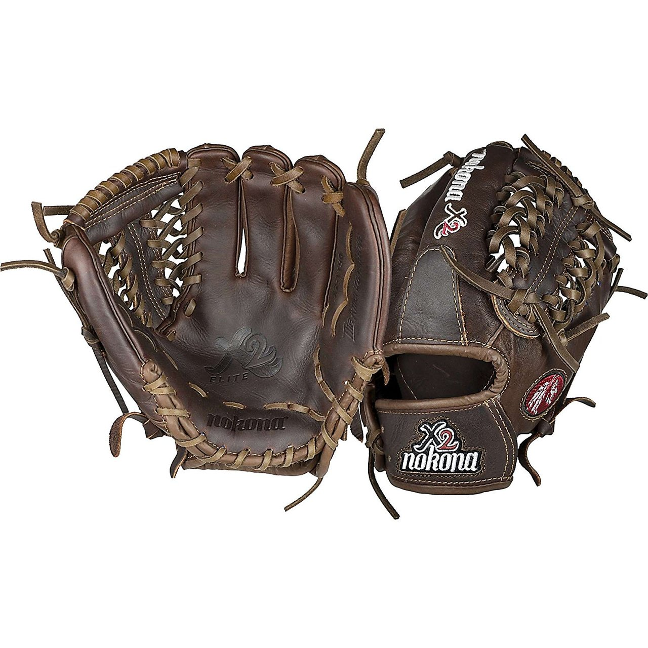 nokona-x2-1150m-x2-elite-11-5-inch-baseball-glove-right-handed-throw X2-1150M-Right Handed Throw Nokona 808808888680 Nokona X2-1150M an X2 Elite baseball glove Nokonas highest performance ready-for-play