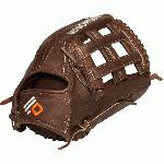 nokona x2 baseball glove 12 75 inch h web right hand throw