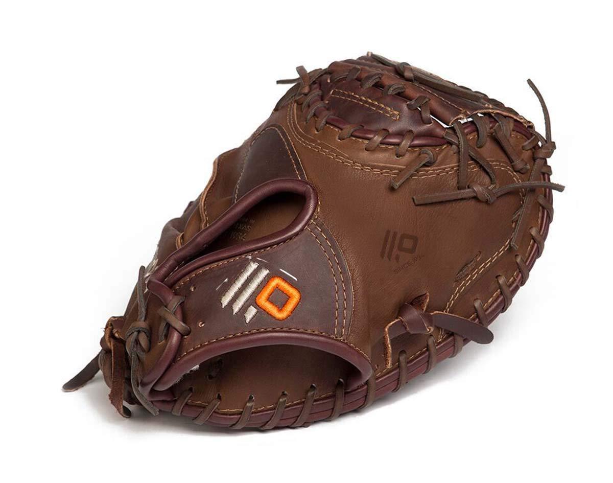 nokona-x2-elite-33-5-catchers-mitt-x2-3350c-right-hand-throw X2-3350C-RightHandThrow  808808892809 33.50 Pattern Closed Web Open Back Leather Stampede™ + Kangaroo Shearling