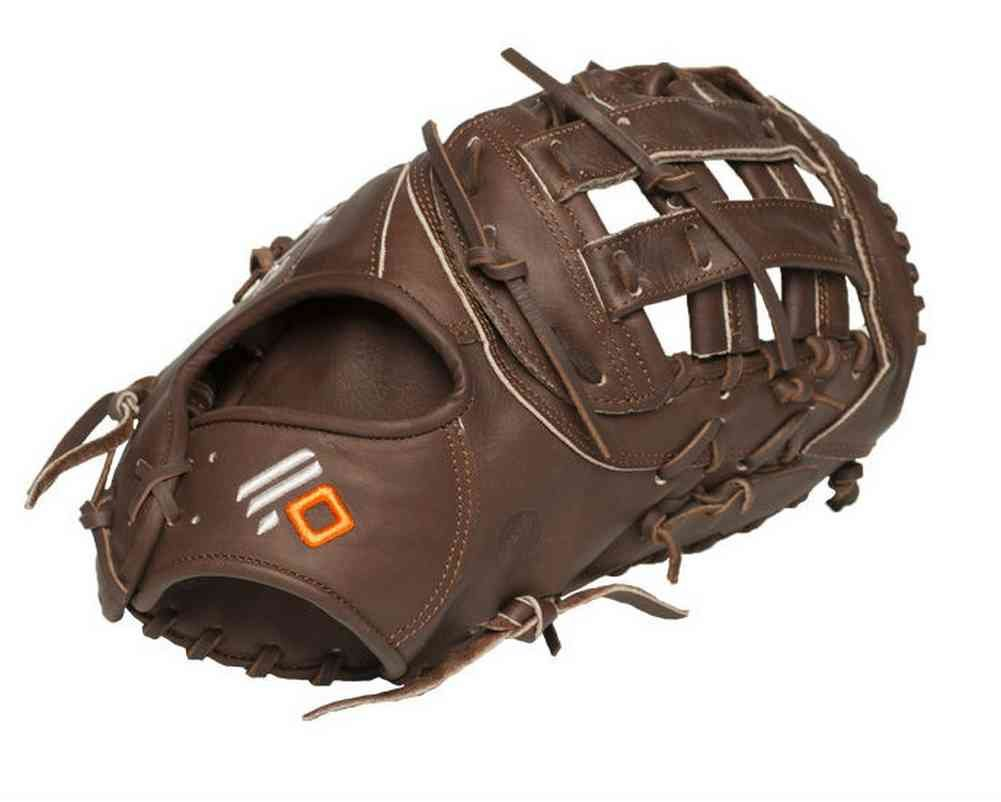 13 First Base Pattern H Web Open Back Leather: Stampede™ + Kangaroo Shearling Cuff Hand: Regular & Full-Right Weight: ~730g. Nokona's elite performance, ready-for-play, position-specific series. The X2 Elite™ is made with Nokona's proprietary top-grain Stampede™ Steerhide and Kangaroo leathers, so that minimal break-in is needed, but the glove has great structure and maintains its shape. A perfect combination of top quality and high performance.