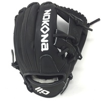 nokona xft baseball glove 11 5 ox black right hand throw