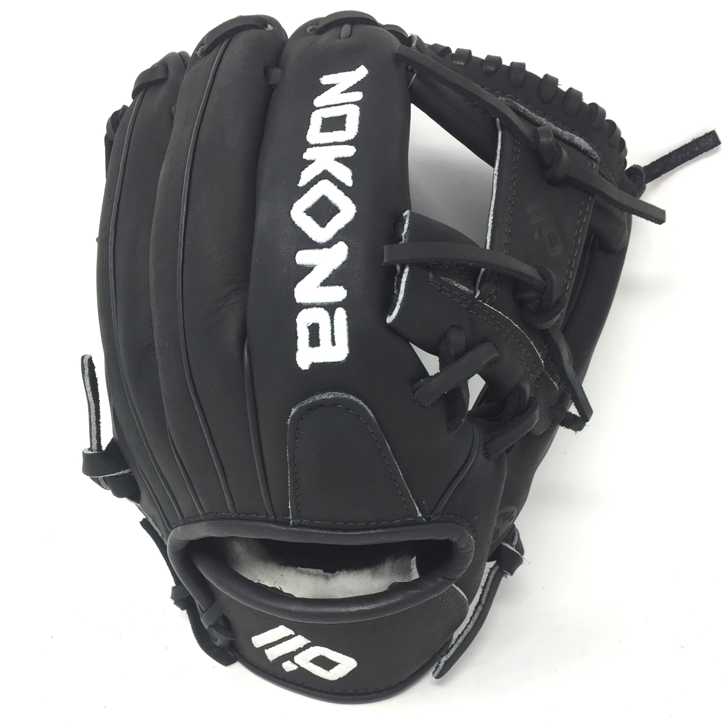 Nokona's Nokona's all new Supersoft Series gloves are made from premium top-grain steerhide leather and feature eye catching colors and patterns. The Supersoft glove has a supple and game ready feel yet retains its structure and durability through the wears and tears of the game.