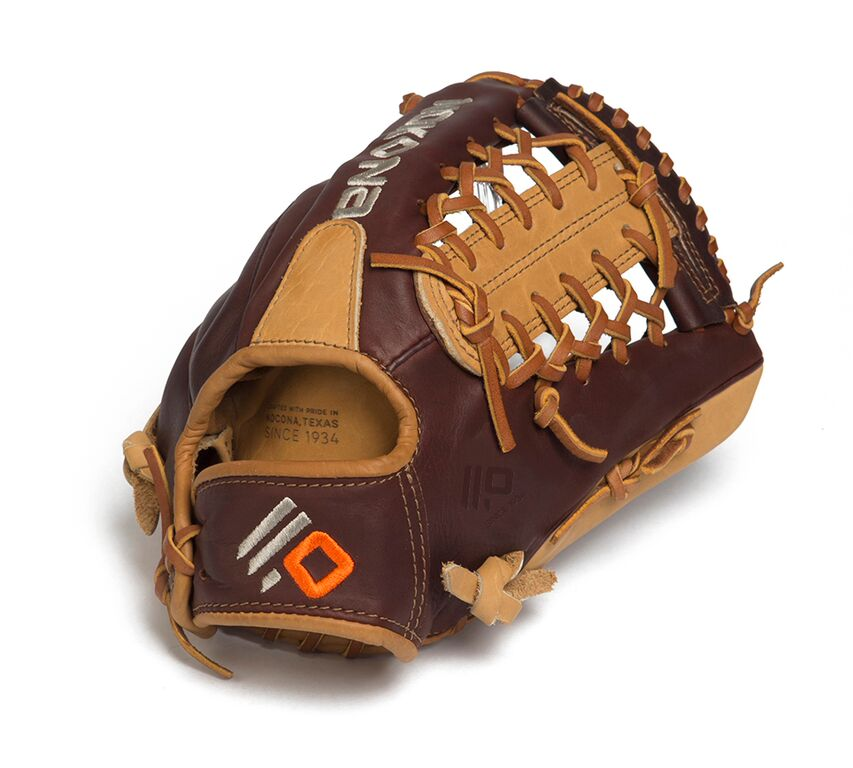 Nokona Youth Alpha Select 11.25 inch Baseball Glove (Right Handed Throw) : Nokona youth premium baseball glove. Modified Trap web and open back.
