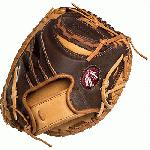Nokona Youth Alpha Select Baseball Glove. Catcher Mitt 31.5 inch. For youth players.