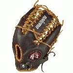 Nokona Youth Alpha Select S-300T Baseball Glove 12.25 inch (Right Handed Throw) : Nokona youth premium line of gloves, the alpha select baseball glove from Nokona. Trap style web and closed back.