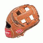 Bull Series gloves are manufactured to Rawlings Gold Glove Standards. Authentic Rawlings position specific Pro Patterns. Soft oil tanned full grain leather shell. Game ready feel with palm pads and index finger pads to reduce ball impact. Built ready to play and to break in with a feel and fit designed for comfort and performance.