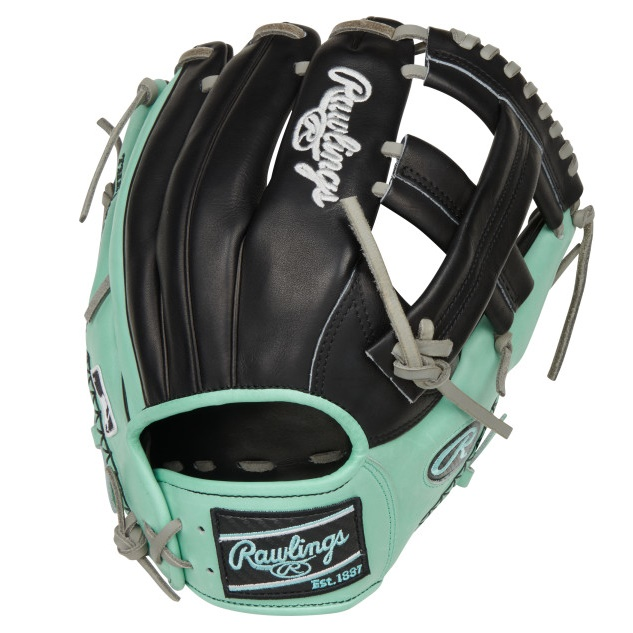 rawlings-color-sync-5-baseball-glove-11-5-if-single-post-web-right-hand-throw PRONP4-20BOM-RightHandThrow Rawlings 083321749605 Add some color to your game with Rawlings new limited-edition Heart