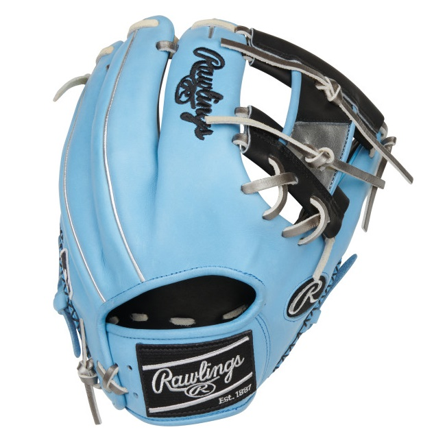 rawlings-color-sync-5-baseball-glove-11-5-pro-i-web-2bcb-right-hand-throw PRO204-2BCB-RightHandThrow Rawlings 083321748653 Add some color to your game with Rawlings' new limited-edition Heart