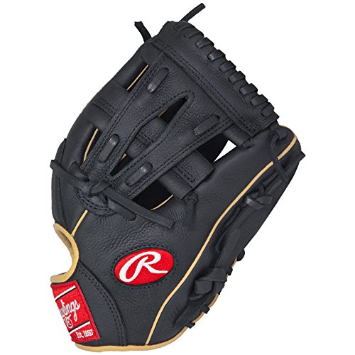 Rawlings Gamer Pro Taper G112PTSP Baseball Glove 11.25 inch (Right Hand Throw) : The Rawlings Gamer Pro Taper 11.25 G112PTSP is designed with smaller hand openings and lowered finger stalls, Gamer Pro Taper gloves provide the perfect solution for the transitioning athlete looking for a pro-style model that fits their growing hand size. Each gloves soft, full grain leather shell breaks in quickly and easily while still maintaining its quality and shape. In addition to their game-ready feel, Gamer Pro Taper gloves are known for their big-league style including authentic pro patterns and premium materials like leather palm pads and durable pro-grade laces.