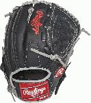 11-3/4-inch all-leather men's Baseball glove Tennessee tanning rawhide leather laces for durability and strength Basket-Web with conventional back ideal for 2nd and 3Rd basemen, pitchers, and shortstops Leather-reinforced palm pad offers added impact protection Soft finger back lining and padded thumb loop for comfort