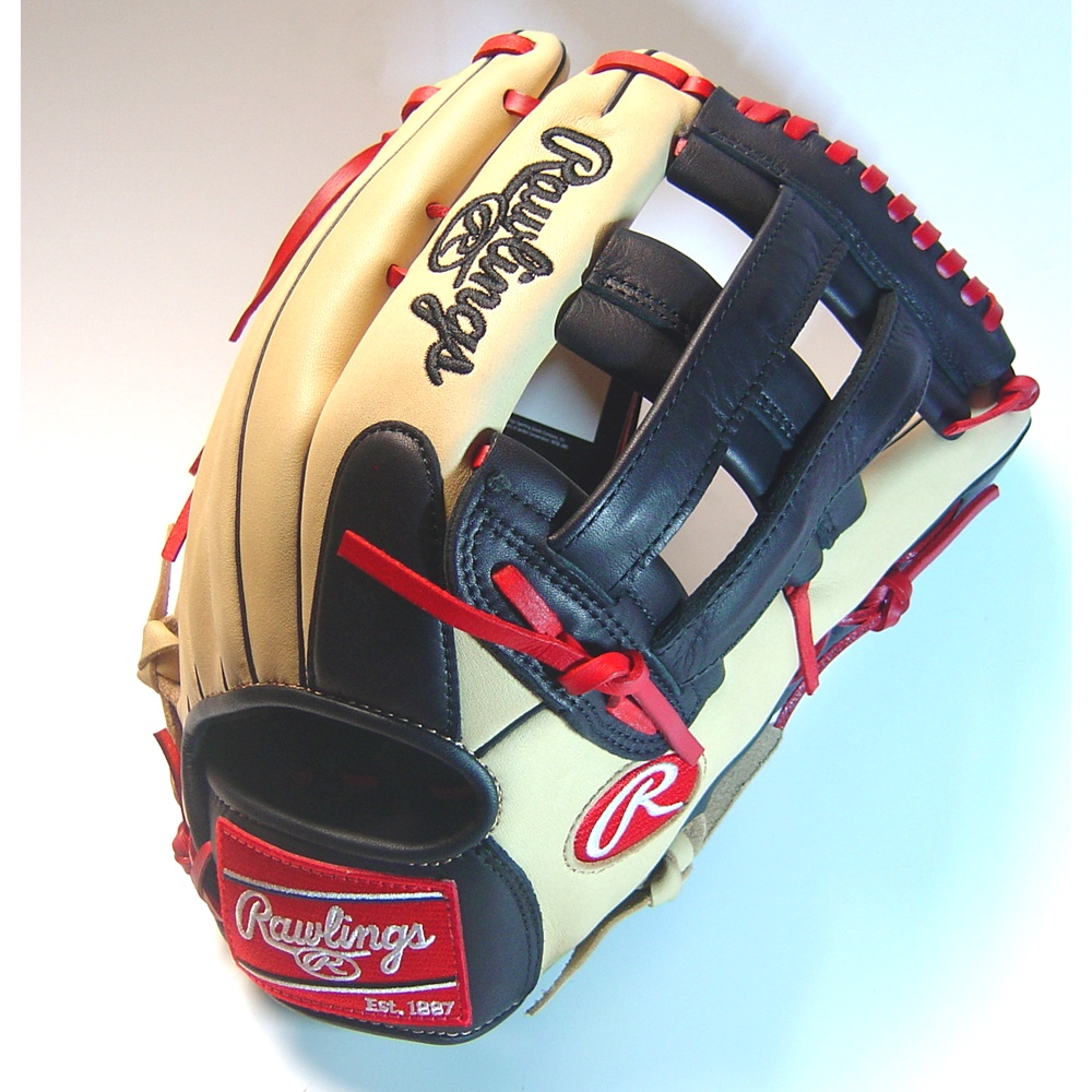 rawlings-gamer-xle-gxle302c-6cs-baseball-glove-12-75-right-hand-throw GXLE302C-6CS-RightHandThrow  083321257834 Custom colors combine look with pro performance. Lightweight soft full grain