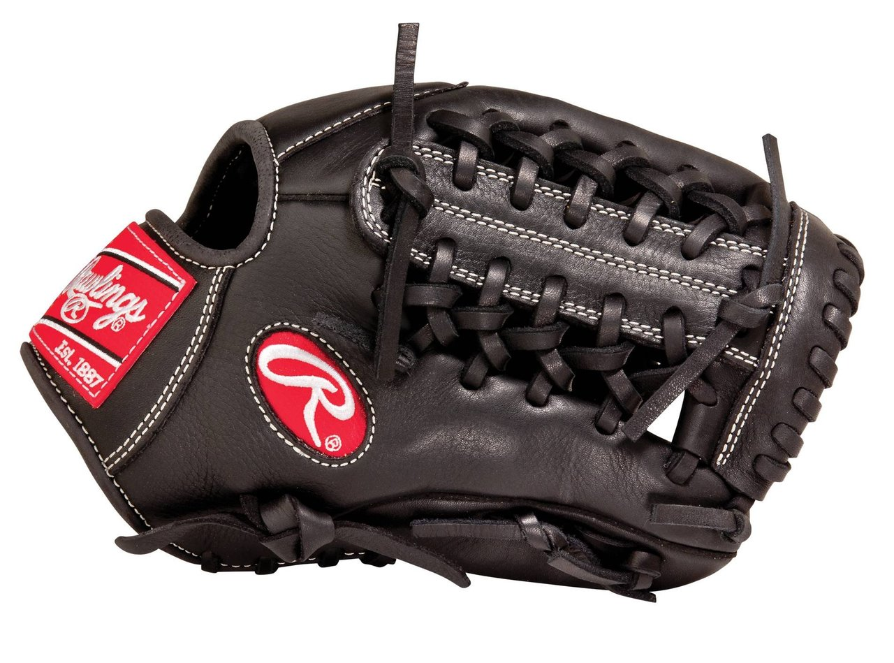 Rawlings Gold Glove Gamer 11.5 inch Baseball Glove (Right Handed Throw) : The Rawlings G204B Gold Glove Gamer baseball glove from Rawlings features the Modified Trapeze Web pattern, which is an extremely strong web that provides ball snagging functionality. With its 11 12 pattern, this glove is our most popular model and at the Pro Level is primarily used at the shortstoppitcher position and at the collegiant or highschool level it can be used at 2nd, 3rd, and shortstop. This Gold Glove Gamer Series glove utilizes pro quality materials and designs including authentic Rawlings Pro Patterns and high-quality US made Pro Grade Laces. With new pro soft leather that allows for a quicker, easier break-in, and full grain finger linings, these gloves maximize comfort and durability.