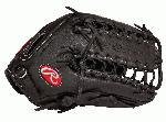 The G601B Rawlings Gold Glove Gamer baseball glove features the Trapeze web pattern. It is referred to as the six finger glove that acts to shift the pocket to the center. The web is part of the glove, not separate from it, allowing for maximum strength. With its 12 34 pattern, deep pocket, and open web, this pattern is the most popular glove among outfielders. This Gold Glove Gamer Series utilize pro quality materials and designs including authentic Rawlings Pro Patterns and high-quality US made Pro Grade Laces. Pro soft leather that allows for a quicker, easier break-in, and full grain finger linings, these gloves maximize comfort and durability.