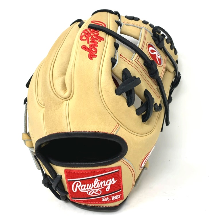 rawlings-heart-of-hide-11-25-baseball-glove-tan-black-right-hand-throw PRO312-CB-RightHandThrow  083321531842 Constructed from Rawlings' world-renowned Heart of the Hide® steer hide leather