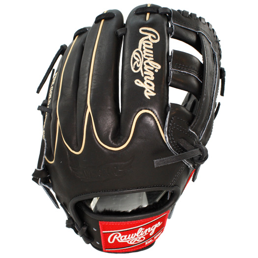 This Heart of the Hide Players Series baseball glove from Rawlings features a PRO H Web pattern, which gives increased stability and glove control. This glove is primarily an infielders glove, especially for those on the left side and works best at the 3rd base position. The Heart of the Hide players series features the game-day patterns of the Rawlings Advisory staff. Available in select Heart of the Hide model, these high quality gloves have defined the careers of those deemed The Finest in the Field and are now available to elite athletes looking to join the next class of defensive greats. This glove is the same pattern worn by Brandon Crawford.