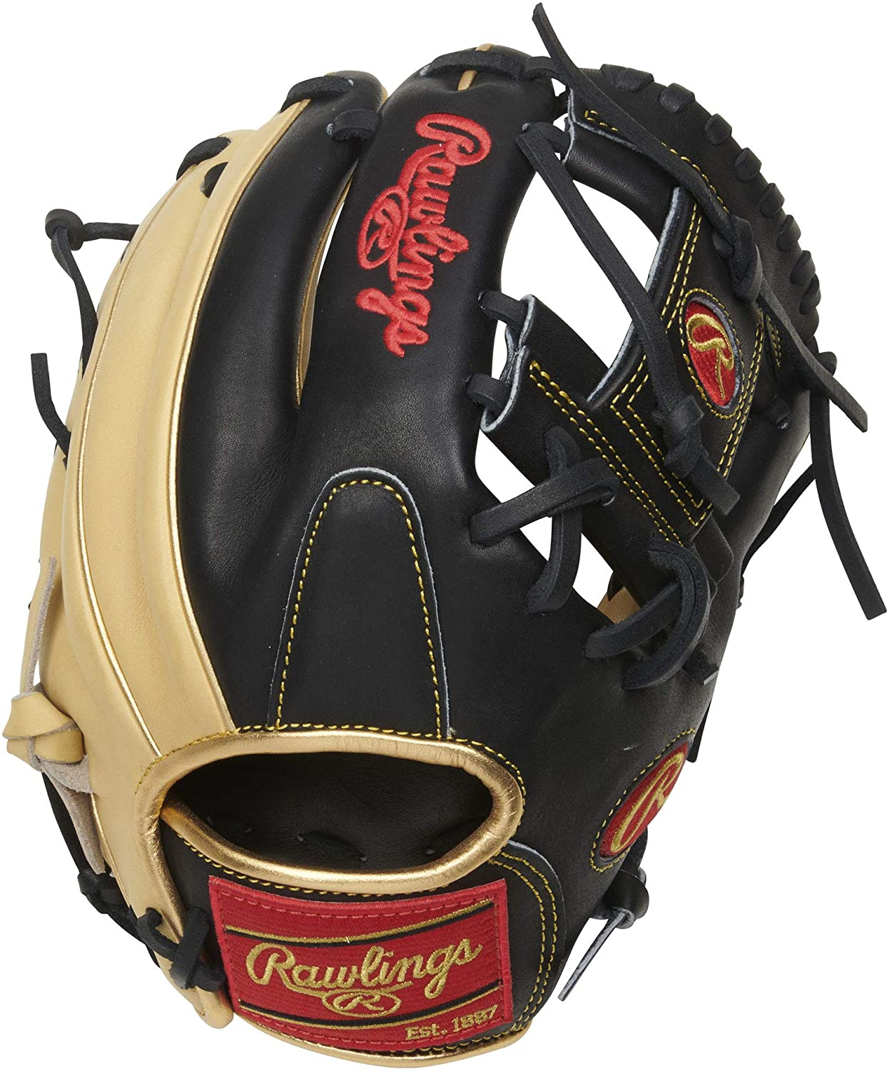 Rawlings' all new Heart of the Hide R2G gloves feature little to no break in required for a game ready feel and narrow fit design ideal for smaller hands. Constructed from Rawlings' world-renowned Heart of the Hide steer leather, Heart of the Hide gloves feature the game-day patterns of the top Rawlings Advisory Staff players. These high quality gloves have defined the careers of those deemed as the finest in the field and are are available to elite athletes looking to join the next class of defensive greats. - 11.5 Inch 200U Pattern - Pro I Web - Narrow Fit Pattern Ideal For Smaller Hands - Conventional Open Back - Redesigned Heel Pad For Easier Close - Pro Grade Leather Laces - Constructed From the Top 5% of All Hides Available - Deer tanned Cowhide Plus Palm Lining - Soft Full-Grain Fingerback Linings - Heart of the Hide Steer Leather.