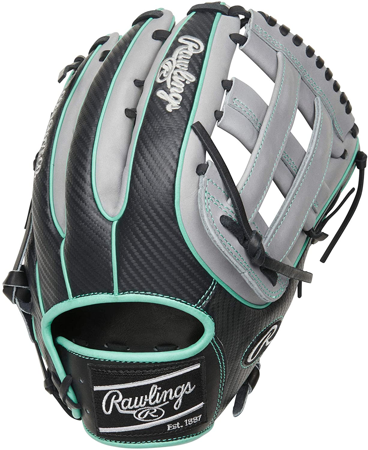 rawlings-heart-of-hide-12-75-baseball-glove-h-web-grey-right-hand-throw PRO3319-6BCF  083321702594 <span>You'll have the fastest backhand glove in the game with the