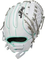 rawlings heart of hide 12 softball glove basket web right hand throw