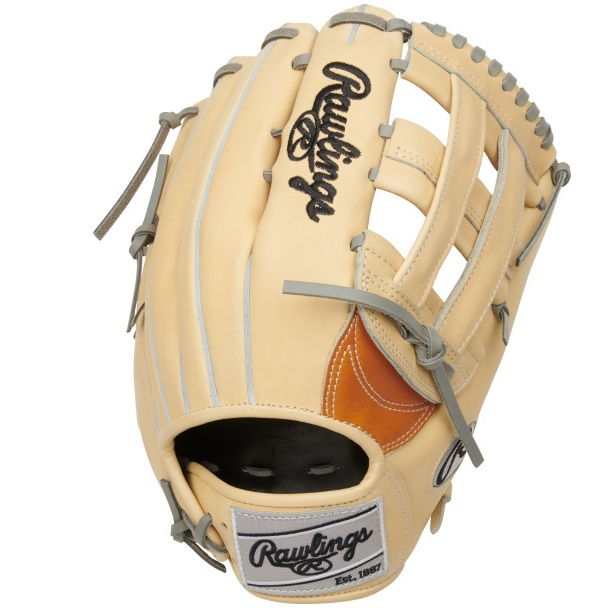 rawlings-heart-of-hide-2022-baseball-glove-tan-12-75-inch-right-hand-throw PRO3039-6TC-RightHandThrow Rawlings 083321702068 Meticulously crafted from ultra-premium steer-hide leather the 2021 Heart of the
