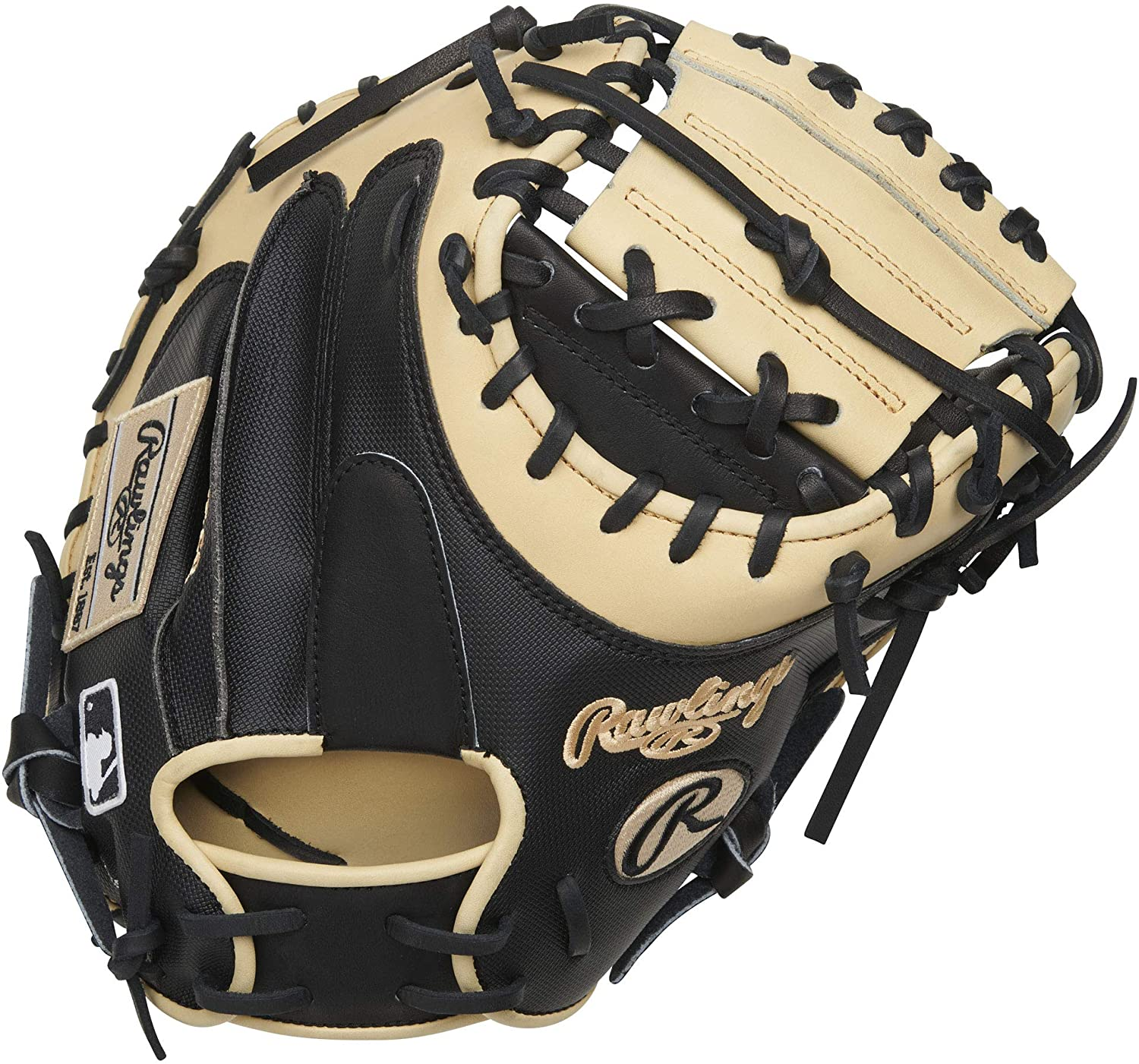 rawlings-heart-of-hide-34-catchers-mitt-y-molina-right-hand-throw PROYM4BC-RightHandThrow  083321702341 <span>onstructed from Rawlings world-renowned Heart of the Hide steer leather Heart