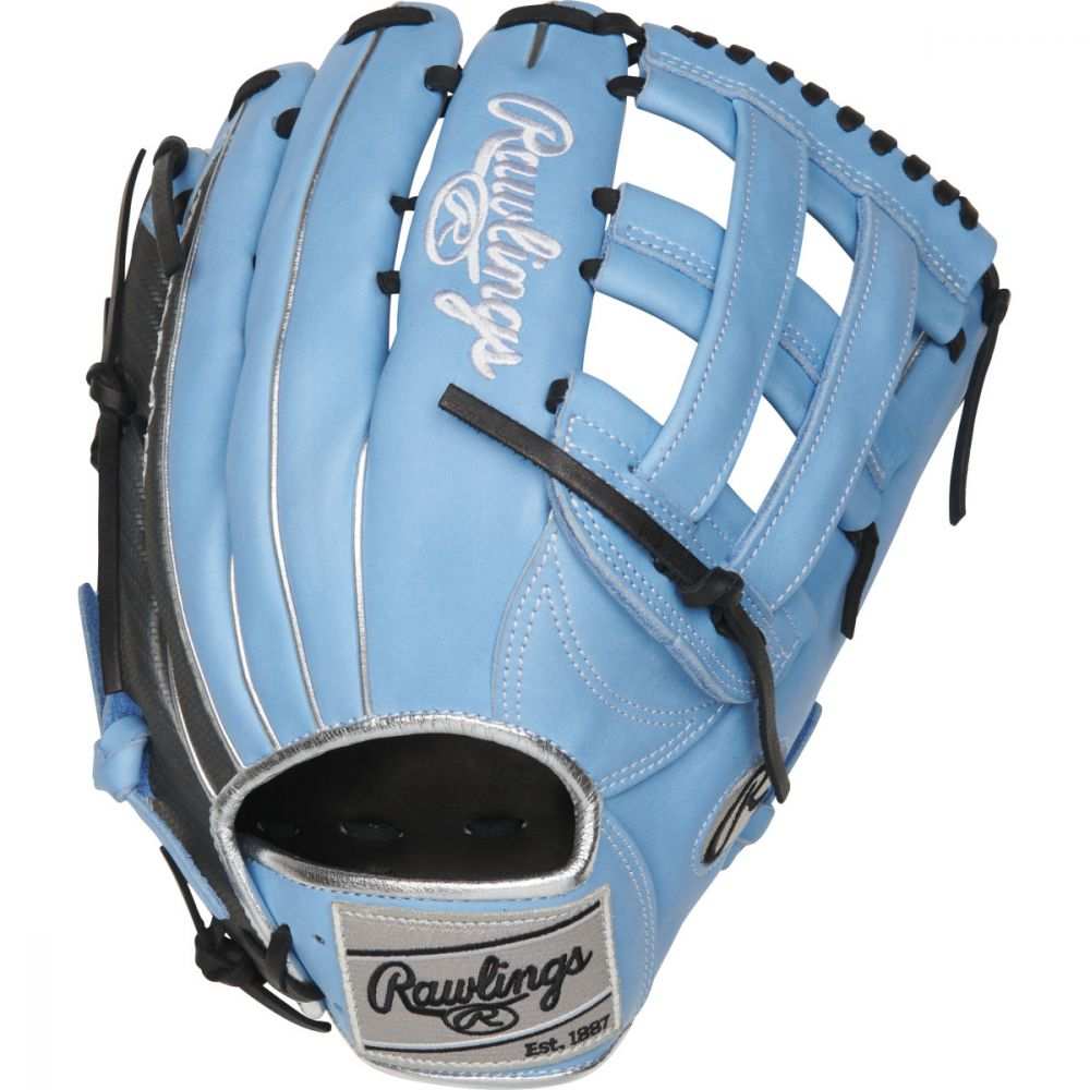 rawlings-heart-of-hide-color-sync-4-0-baseball-glove-12-75-right-hand-throw PRO3039-6CB-RightHandThrow Rawlings 083321671197 The 12.75-Inch Heart of the Hide ColorSync outfield glove is constructed