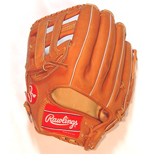 Rawlings Heart of Hide PRO-2HC Made in USA Baseball Glove (Left Handed Throw) : Rawlings Heart of the Hide Made in USA Baseball Glove. H Web. Stamped ABB01. Deer Tanned Cowhide Lining. Open Back.