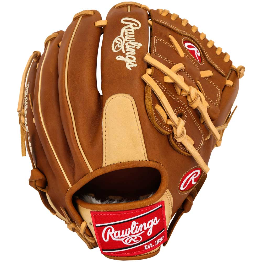 rawlings-heart-of-hide-pro12tic-baseball-glove-12-inch-right-hand-throw PRO12TIC-RightHandThrow Rawlings 083321307584 Rawlings Heart of the Hide baseball glove features a conventional back