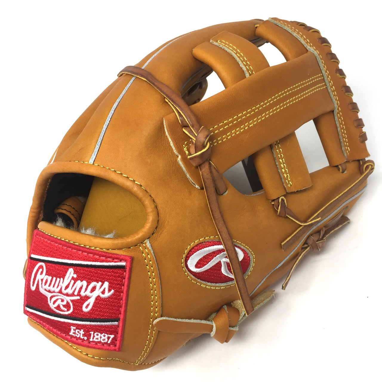rawlings-heart-of-hide-pro200-1-11-5-inch-baseball-glove-right-hand-throw PRO200-1-RightHandThrow Rawlings 083321335303 Made with premium Japanese tanned leather this Heart of the Hide