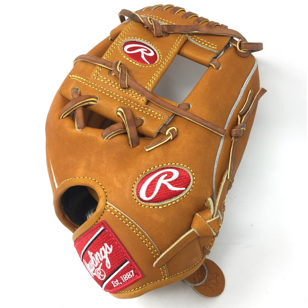 Rawlings PRO200 Pattern. Japanese Tanned Leather.