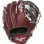 rawlings heart of hide pro204 2shds salesman sample baseball glove 11 5 right hand throw