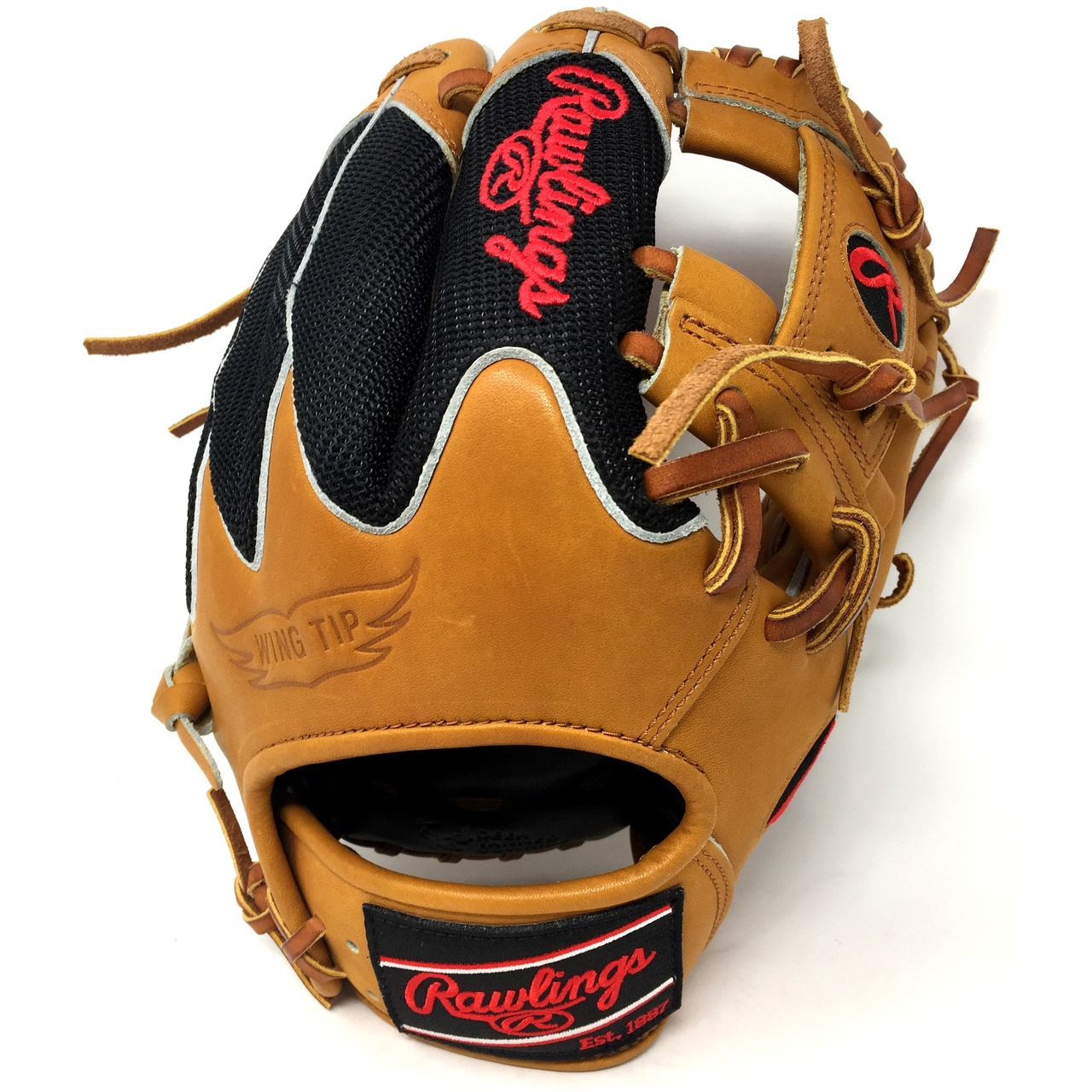 Rawlings Heart of the Hide Wingtip Back and Mesh Back combo. 11.5 inches and I Web Infield Glove. Right Hand Throw.