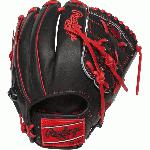 rawlings heart of hide pro205 9cbs baseball glove 11 75 right hand throw