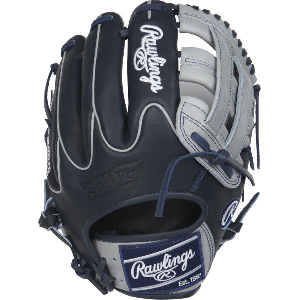 This Limited Edition Color Sync Heart of the Hide baseball glove features a PRO H Web pattern, which gives increased stability and glove control while allowing the player to look through the webbing to shield their eyes from the sun and lights on those high pop flies. This glove is primarily an infielders glove, especially for those on the left side and works best at the 3rd base position. Handcrafted from the top 5% of steer hides and the best pro grade lace, Heart of the Hide glove durability remains unmatched. Tags: color-sync Size: 11.75 in Color: GrayDark Shadow Hand: Right Back: Conventional Player Break-In: 70 Fit: Pro Lining: Deer-Tanned Cowhide Padding: Moldable Pattern: Baseball Position: Infield Series: Heart of the Hide Shell: Steer Hide Leather Web: Pro H