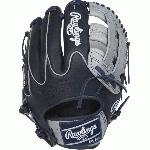 rawlings heart of hide pro205w 6ng salesman sample baseball glove 11 75 right hand throw