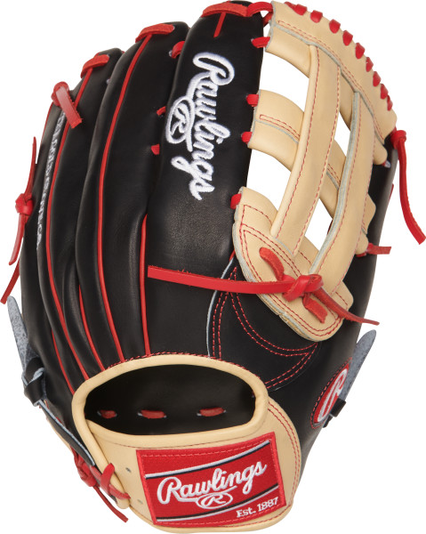 rawlings-heart-of-hide-probh34-baseball-glove-13-right-hand-throw PROBH34-RightHandThrow Rawlings 083321522888 Rawlings Heart of the Hide Bryce Harper Gameday pattern baseball glove.