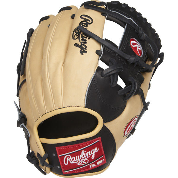 rawlings-heart-of-hide-pronp4-2bc-baseball-glove-11-5-right-hand-throw PRONP4-2BC-RightHandThrow Rawlings 083321368691 Constructed from Rawlings' world-renowned Heart of the Hide® steer hide leather